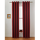 more details on Collection Twilight Blackout Unlined Curtain-117x137cm-Berry