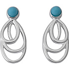 more details on Ardanti Sterling Silver and Turquoise Stone Stud Earrings.