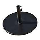 more details on Granite Natural Round Parasol Base - Black.