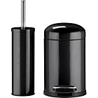 more details on ColourMatch Slow Closing Bin & Brush Set - Black.