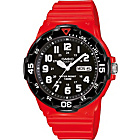 more details on Casio Men's Red Divers Style Strap Watch.