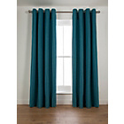 more details on Heart of House Camden Lined Curtains - 168 x 137cm - Teal.