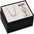 more details on Bulova Ladies' Crystal Watch and Necklet Set.