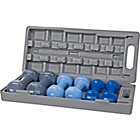 more details on Pro Fitness Dumbbell Set with Carry Case - 6kg.