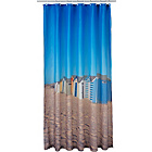 more details on Beach Huts Shower Curtain.