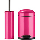 more details on ColourMatch Slow Closing Bin & Brush Set - Funky Fuchsia.