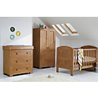 more details on Mamas & Papas Harrow 3 Piece Nursery Set - Dark Oak.