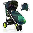 more details on Koochi Pushmatic Stroller - Green Hyperwave.