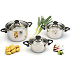 more details on BergHOFF Vision Prima 3 Piece Casserole Set.