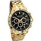more details on Sekonda Classique Men's Chronograph Gold Tone Bracelet Watch