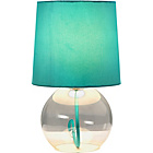 more details on ColourMatch Flexi Glass Lamp - Aqua.