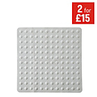 more details on Rubber Shower Mat - White.
