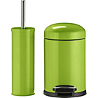 more details on ColourMatch Slow Closing Bin & Brush Set - Apple Green.