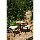 more details on Verona 2 Seater Bistro Set - Black.