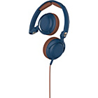more details on Skullcandy Lowrider On Ear with Mic - Navy/Brown/Copper.