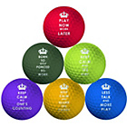 more details on Longridge Pack of 6 Keep Calm Golf Balls.