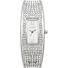 more details on Lipsy Ladies Silver Bangle Watch.