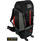 more details on Highlander Starav 65L Rucksack - Black and Red.