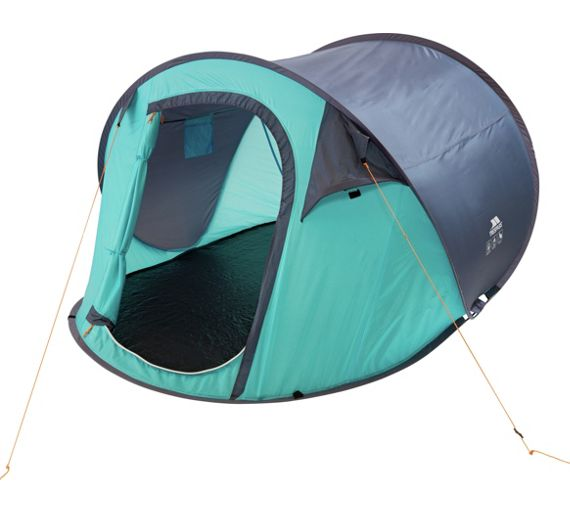 Buy Trespass 3 Man 1 Room Festival Pop Up Tent At Your Online S