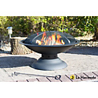 more details on La Hacienda Steel Large Firepit with Pedestal Stand.