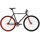 more details on Chill Bike 48cm with Red Rims - Black.