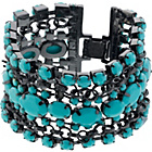 more details on Turquoise Colour Multi Strand Bracelet.