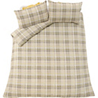 more details on Heart of House Rufus Oatmeal Bedding Set - Kingsize.