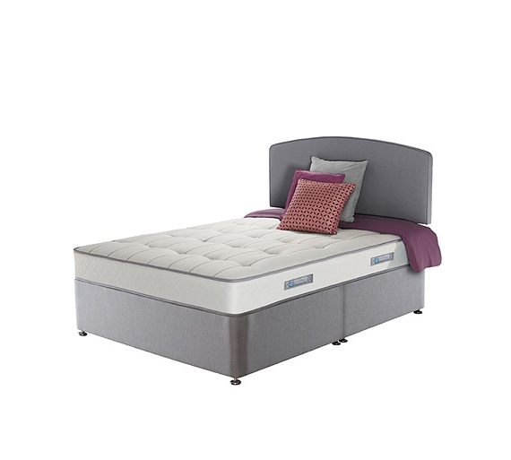Buy sealy posturepedic firm ortho memory double divan bed at your online shop for Argos single divan beds