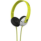 more details on Skullcandy Uprock On Ear with Mic - Hot Lime/Light Grey.
