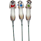 more details on Meerkat Stakes Garden Ornaments - Set of 3.