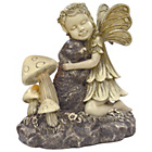 more details on Fairy with Bunny Garden Ornament.