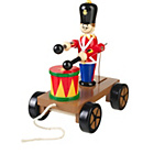 more details on Orange Tree Drumming Soldier on Wheels.