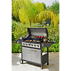 more details on Deluxe 6 Burner Gas BBQ with Cover - Express Delivery.