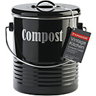 more details on Typhoon Vintage Kitchen Compost Caddy - Black.