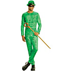 more details on Batman The Riddler Costume - 38-40 Inches.