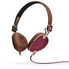 more details on Skullcandy Navigator On Ear with Mic - Maroon/Brown.