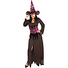 more details on Halloween Elegant Witch Costume - Size 10-12.