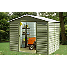 more details on Yardmaster Tall Shiplap Metal Shed - 10 x 12ft.