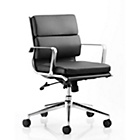 more details on Savoy Medium Back Office Chair - Black.