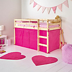 more details on Pink Tent for Single Mid Sleeper Bed Frame.