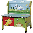 more details on Fantasy Fields Sunny Safari Storage Bench.