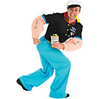 more details on Popeye Costume - 38-42 Inches.