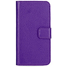 more details on Xqisit Slim Wallet Case for iPhone 5S - Purple.