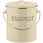 more details on Typhoon Vintage Kitchen Compost Caddy - Cream.