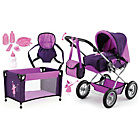 more details on Combi Grande Purple/Mauve Pram.
