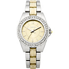 more details on Oasis Ladies Gold and Horn Bracelet Watch.