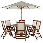 more details on The Collection Albury 6 Seater Patio Set.