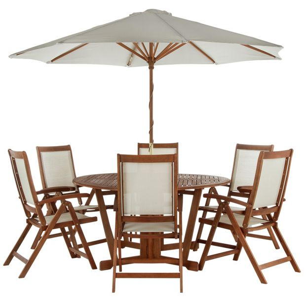 Buy albury 6 seater patio set at your online Home and garden furniture