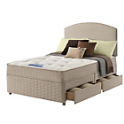 more details on Sealy Relax Backcare Memory Double 4 Drawer Divan Bed.