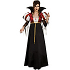 more details on Halloween Royal Vampira Costume - Size 10-12.